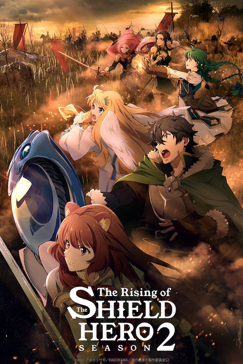 The Rising of the Shield Hero - Season 2 Poster
